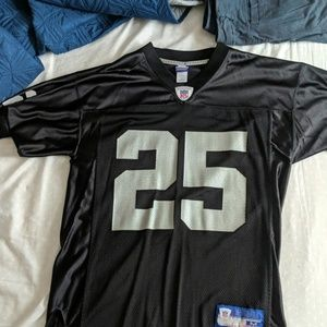 Reebok NFL Charlie Garner Oakland Raiders jersey